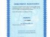 Patent - Biologiczna Oczyszczalnia Ściekow